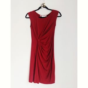 NWOT Max Studio red holiday party office dress